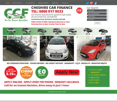 Cheshire Car Finance