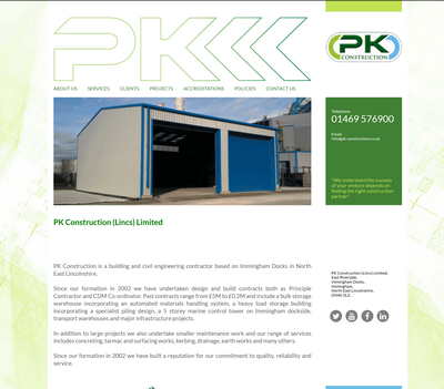 PK Construction Lincolnshire