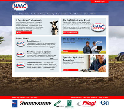 NAAC web application Peterborough